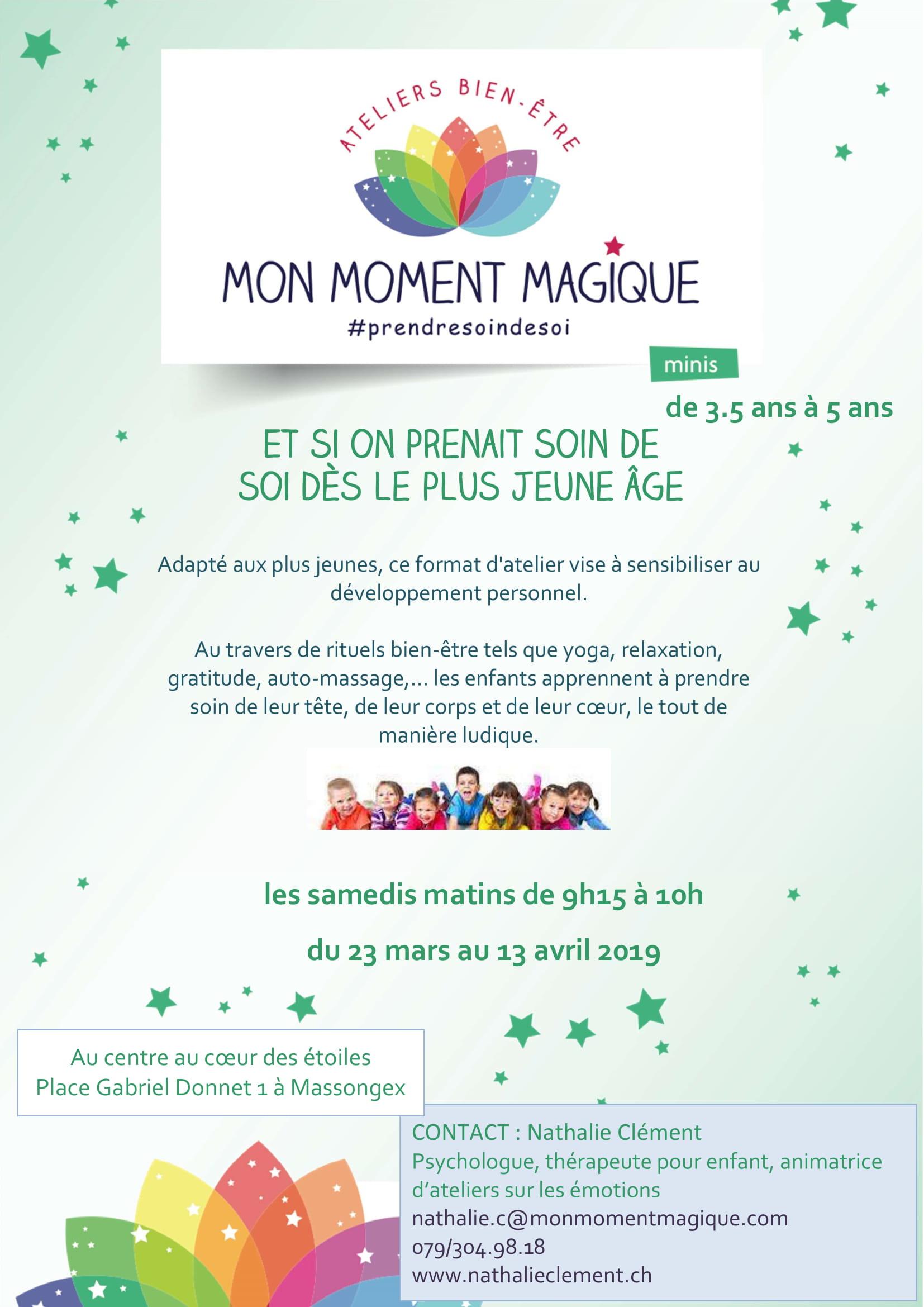 thérapeute pour enfant, mon moment magique, émotion, bien-être, chablais, suisse, Massongex