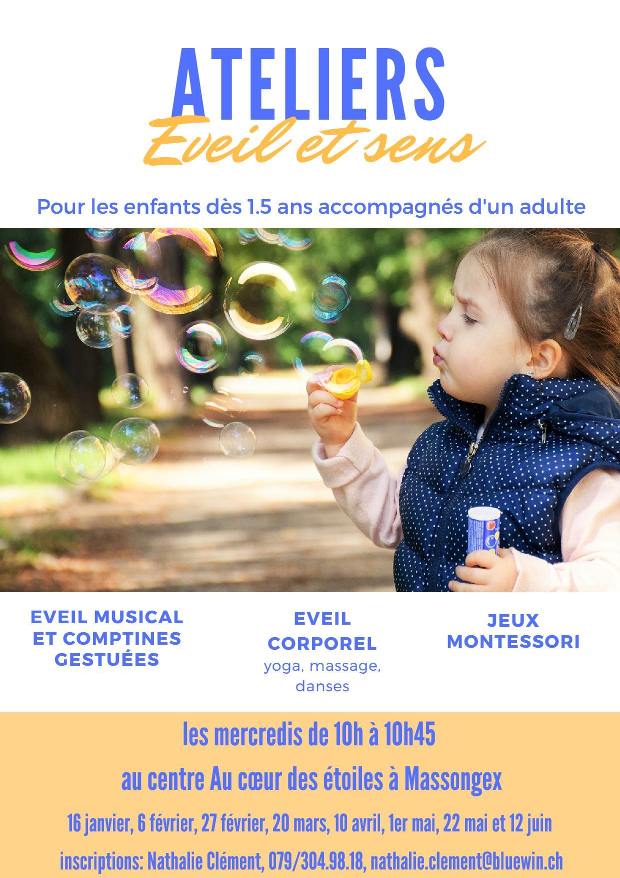 atelier pour enfant, éveil, montessori, chablais, massongex, bien-être, thérapeute pour enfant, Nathalie Clément
